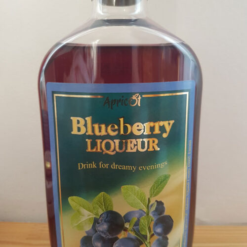 Apricot Blueberry Liqueur (18%)