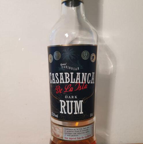 Casablanca De Cuba Dark Rum (37.50%)