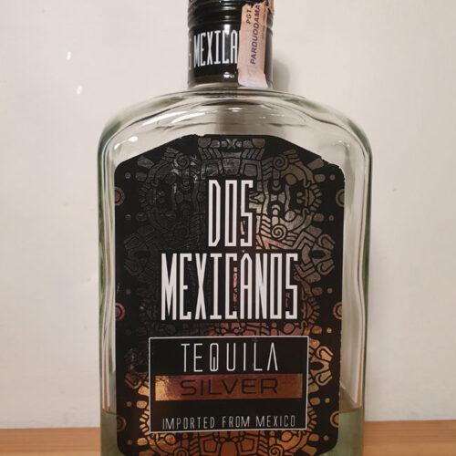 Dos Mexicanos Silver Tequila (40%)
