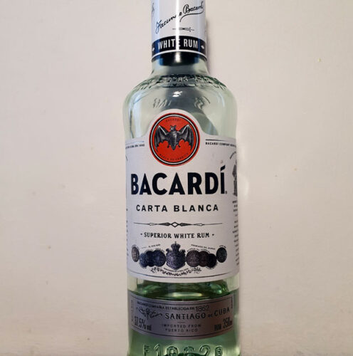 Bacardi Carta Blanca Superior White Rum (37.50%)