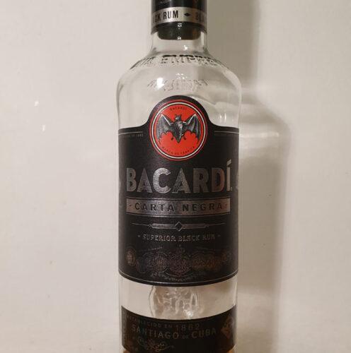Bacardi Carta Negra Black Rum (40%)