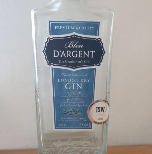 Bleu D'Argent London Dry Gin (40%)