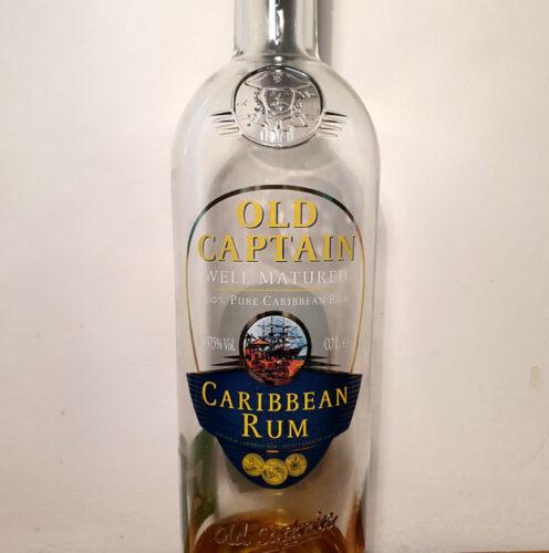 Old Captain Well Matured Caribbean Rum (37.50%)