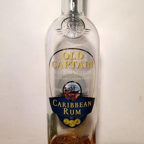 Old Captain Caribbean Dark Rum (37.50%)