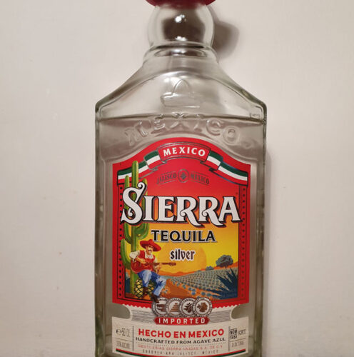 Sierra Silver Tequila (38%)