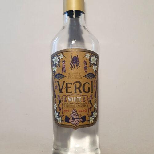 Vergi Caribbean White Rum (37.50%)
