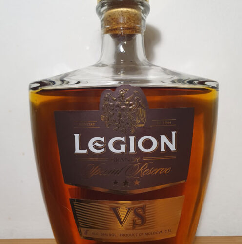 Legion VS 3YO Brandy (36%)