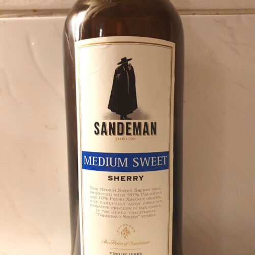 Sandeman Medium Sweet Sherry (15%)