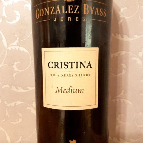 Gonzalez Byass Cristina Medium Sherry (17.50%)