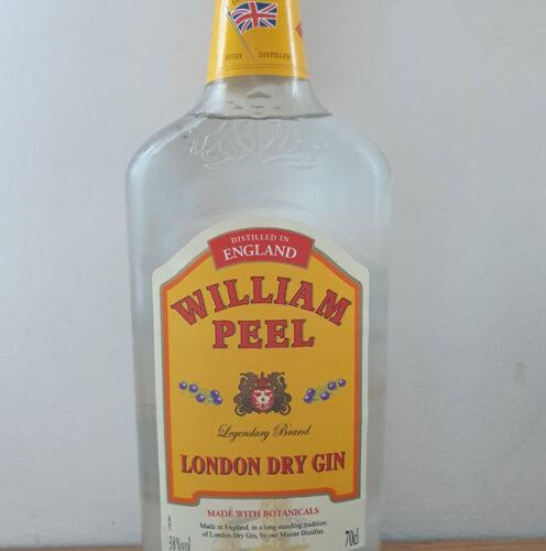 William Peel London Dry Gin (38%)