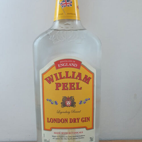 William Peel London Dry Gin (38%)