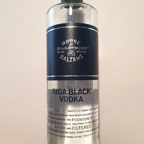 Riga Black Vodka (40%)