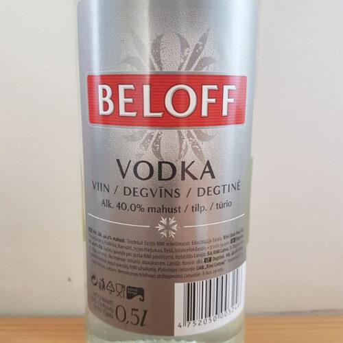 Beloff Vodka (40%)
