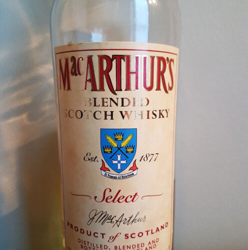 MacArthur's Blended Scotch Whisky (40%)