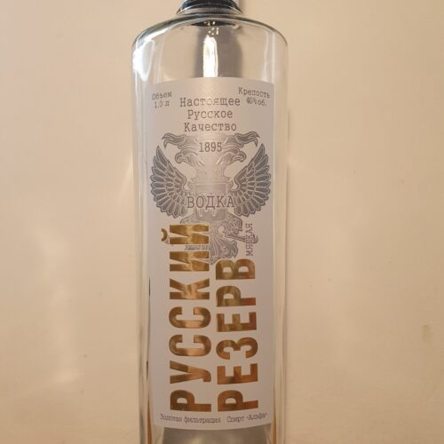 Russkij Rezerv Mjagkaja Vodka (40%)