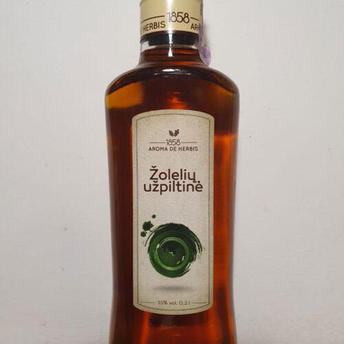 Aroma De Herbes – Žolelių Užpiltinė (Herbal liqueur) (35%)