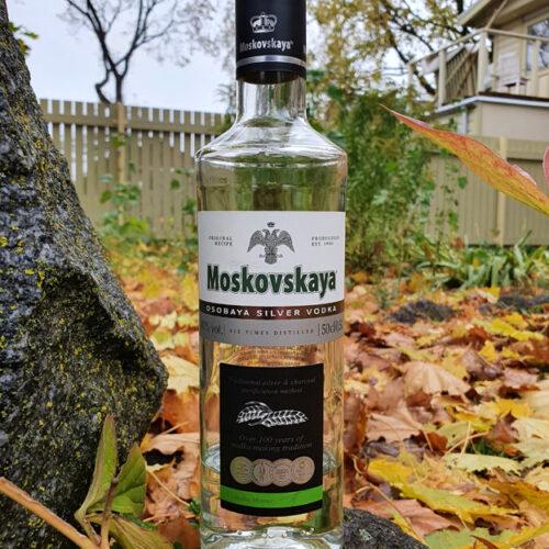 Moskovskaya Silver Vodka (40%)