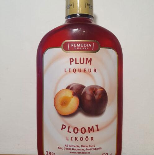 Remedia Plum Liqueur (18%)