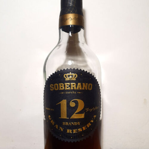 Soberano 12 Gran Reserva Brandy (38%)