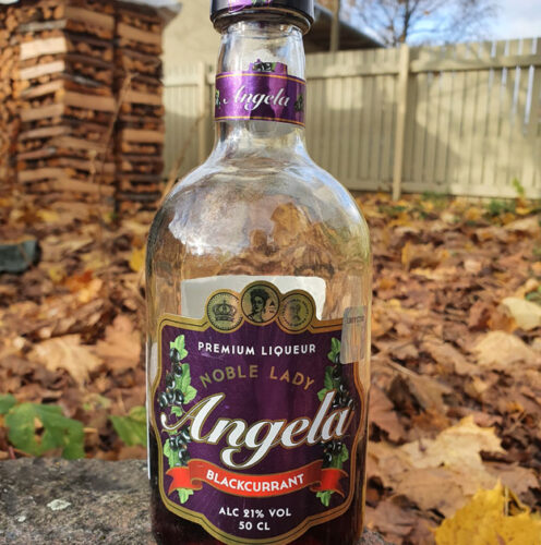 Angela Blackcurrant Liqueur (21%)
