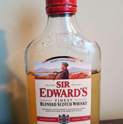 Sir Edward's Finest Blended Scotch Whisky (40%)