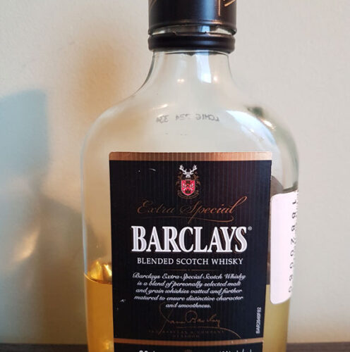 Barclays Blended Scotch Whisky (40%)