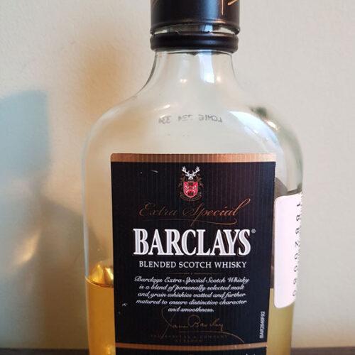 Barclays Blended Scotch Whisky (40%)