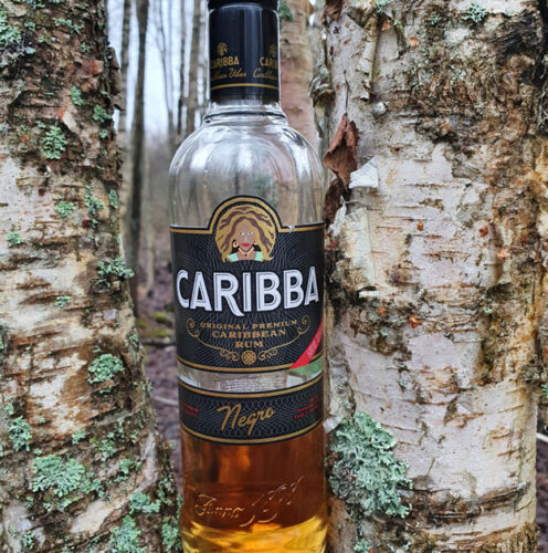 Caribba Negro Dark Rum (37.50%)