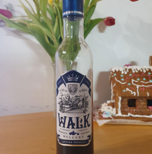 Walk Bilberry Liqueur (21%)