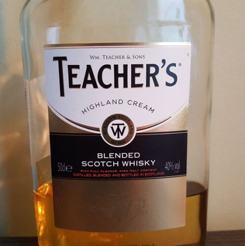Teacher's Highland Cream Scotch Whisky (40%)
