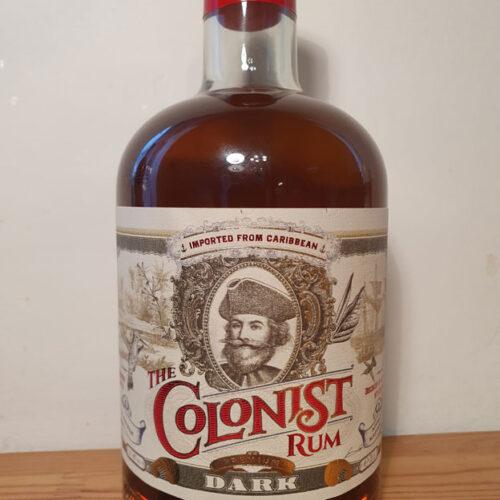 The Colonist Dark Rum (40%)