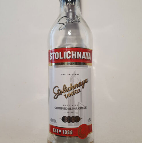 Stolichnaya Vodka (40%)