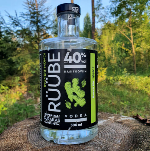 Surakas Rüübe Ginger & Mint Vodka (40%)