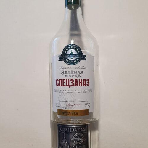 Zelenaya Marka Spetszakaz Vodka (40%)