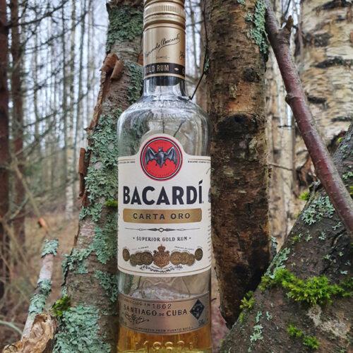 Bacardi Carta Oro Gold Rum (40%)