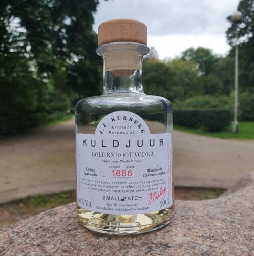 J.J. Kurberg Golden Root Vodka (40%)
